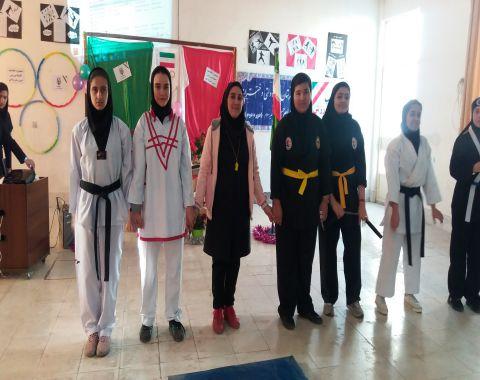 افتتاحیه المپیاد ورزشی درون مدرسه ای-12 آذر